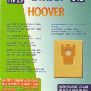 8 SACCHETTI ASPIRAPOLVERE HOOVER TFS5181,5182,5183,5197